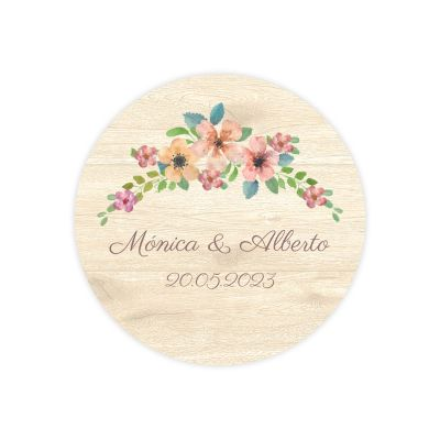 Invitación boda Wildflowers Wood