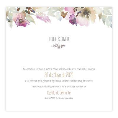 Invitación boda Elia Design