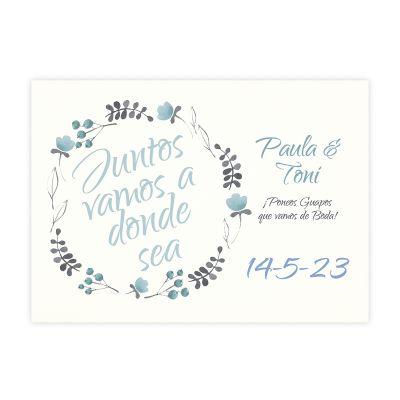 Invitación boda Tintanuez