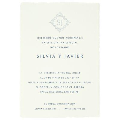 Invitación boda Odin