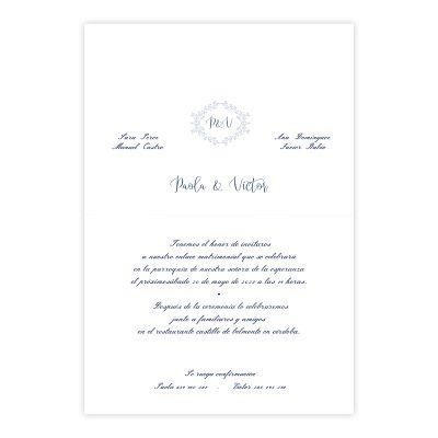 Invitación boda Salma