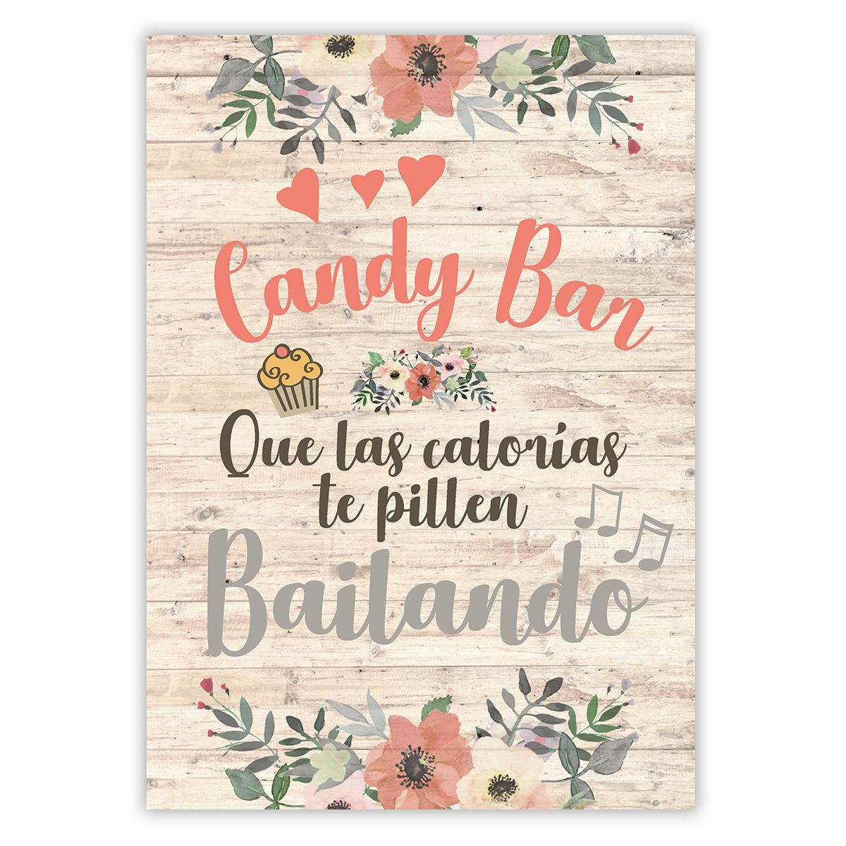 Cartel Candy Bar Liza A3