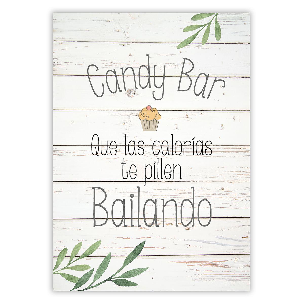 Cartel Candy Bar Olivo