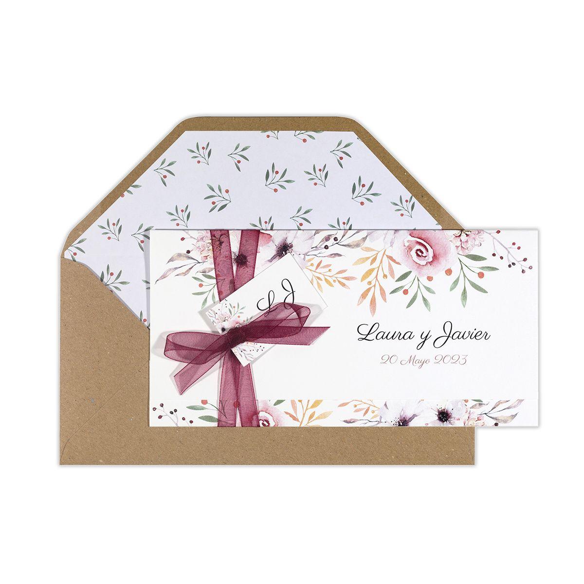 Invitación boda Winona