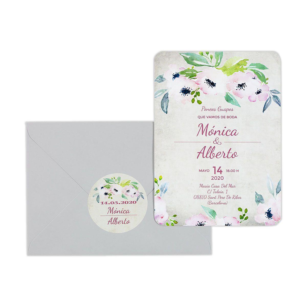 Invitación boda Bliss