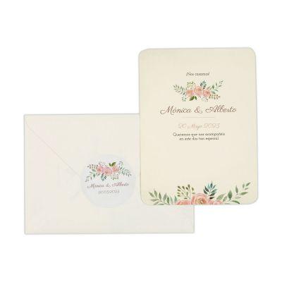 Invitación boda Serena Vintage