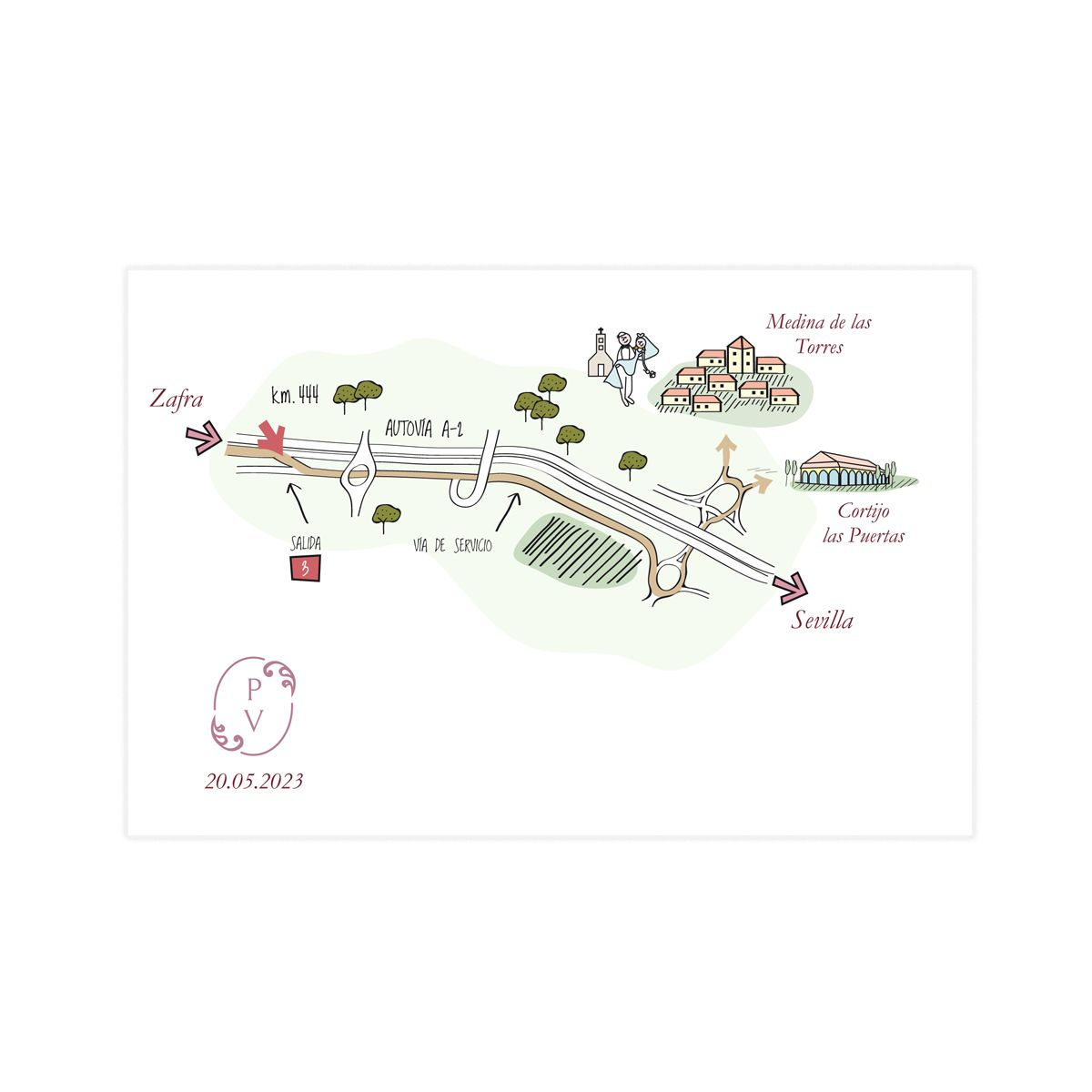 Mapa Ada