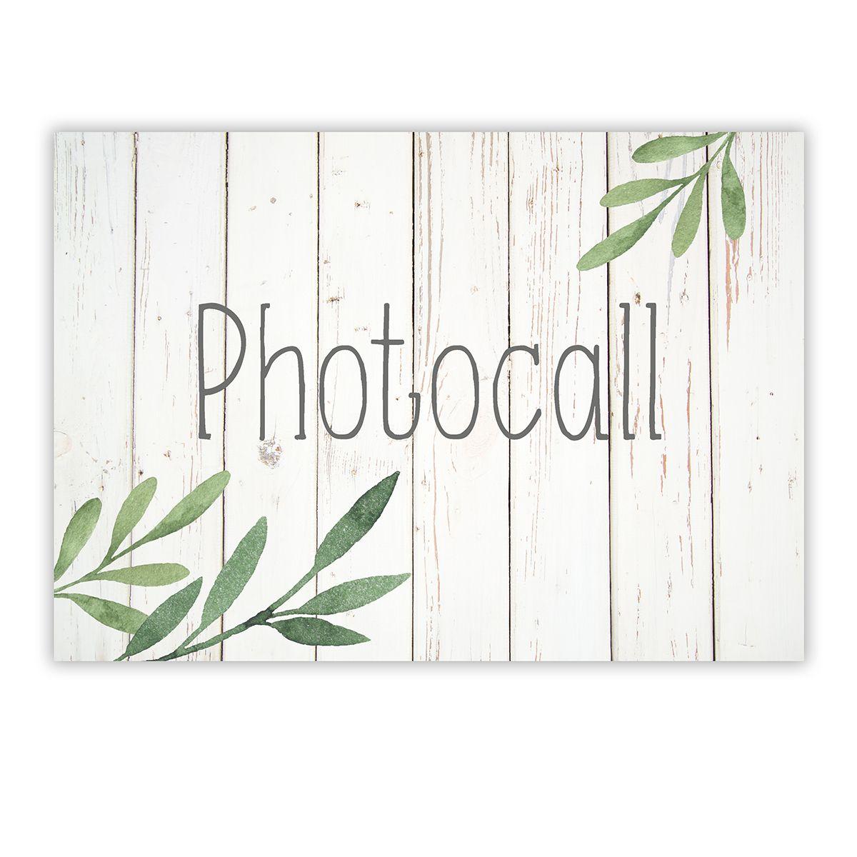 Cartel Photocall Olivo A4