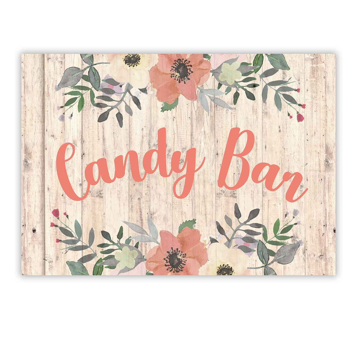 Cartel Candy Bar Liza A4