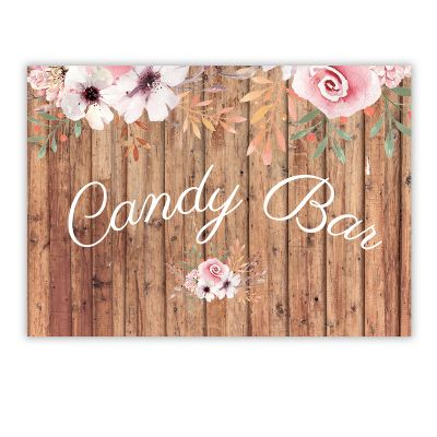 Cartel Candy Bar Winona A4