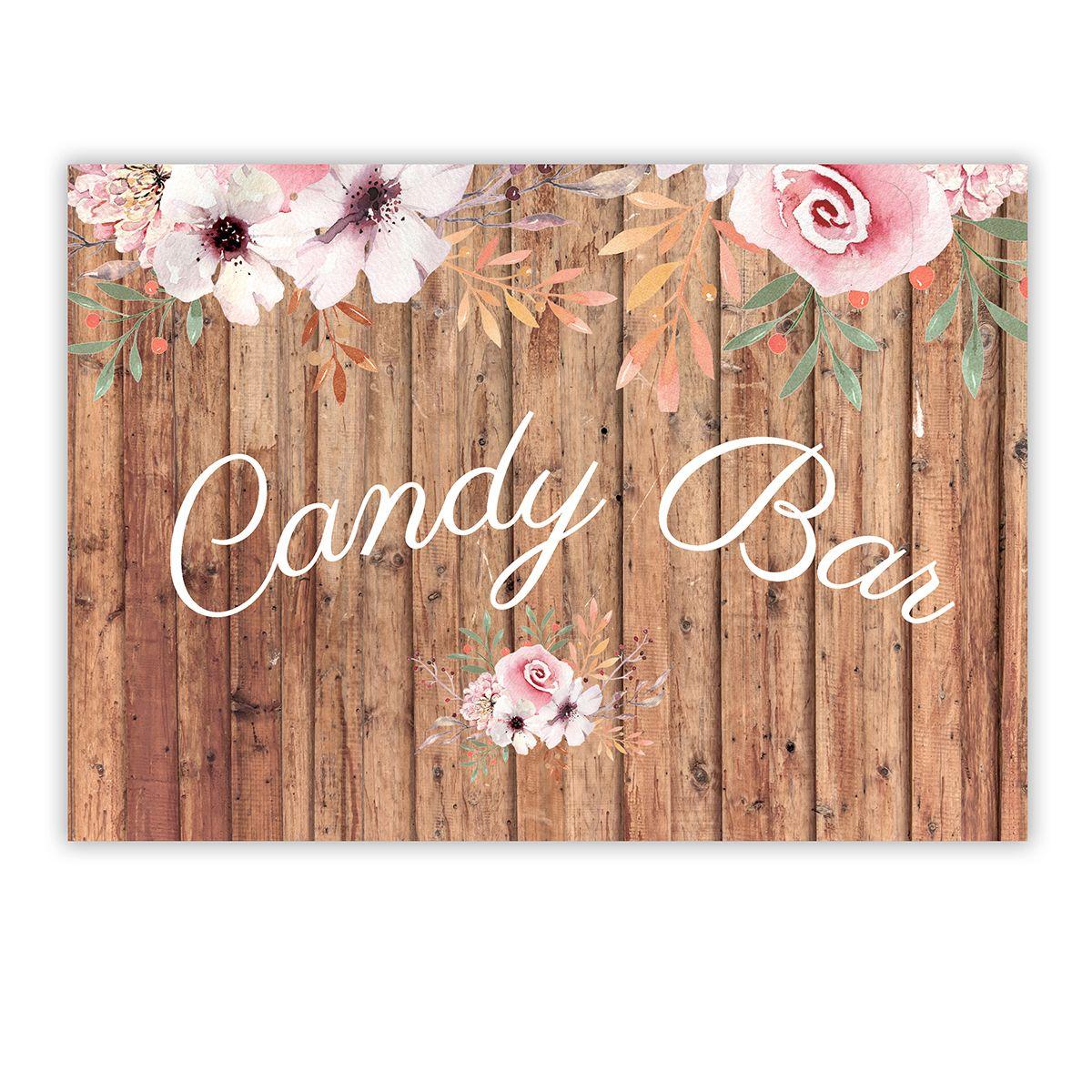 Cartel Candy Bar Winona A4