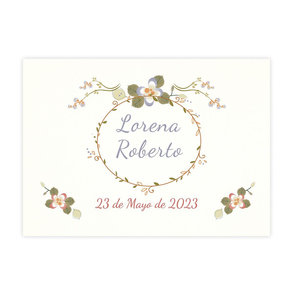 Invitación boda Mariposas
