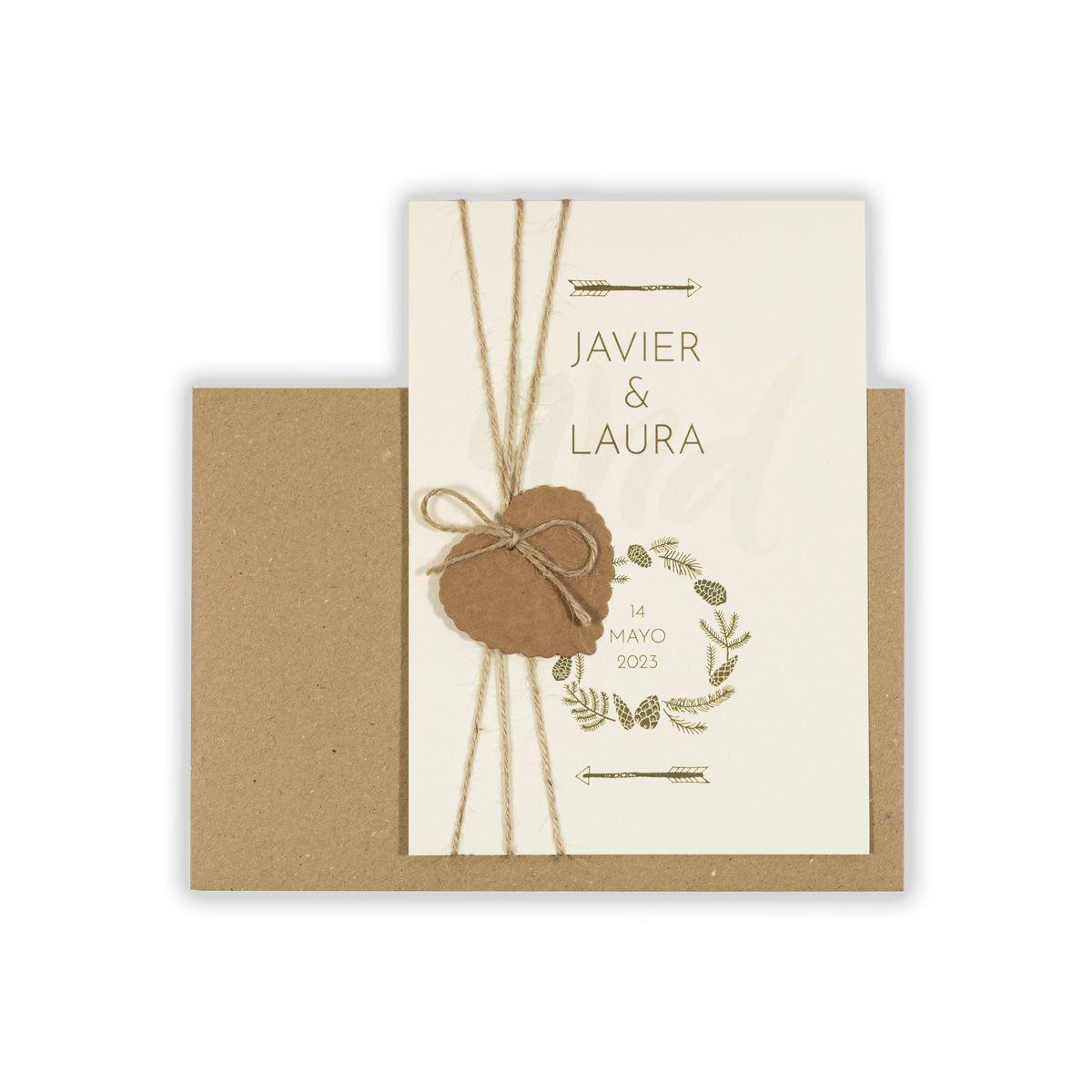 Invitación boda And Arrow