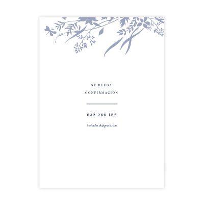 Invitación boda Carmen