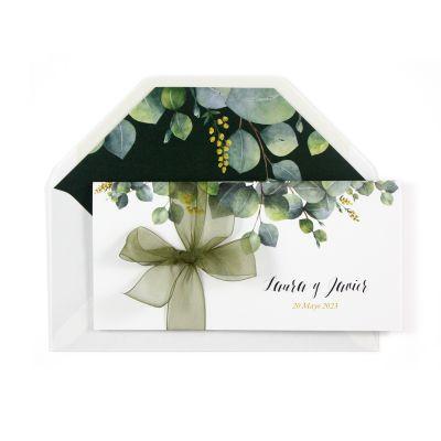 Invitación boda Eva Design
