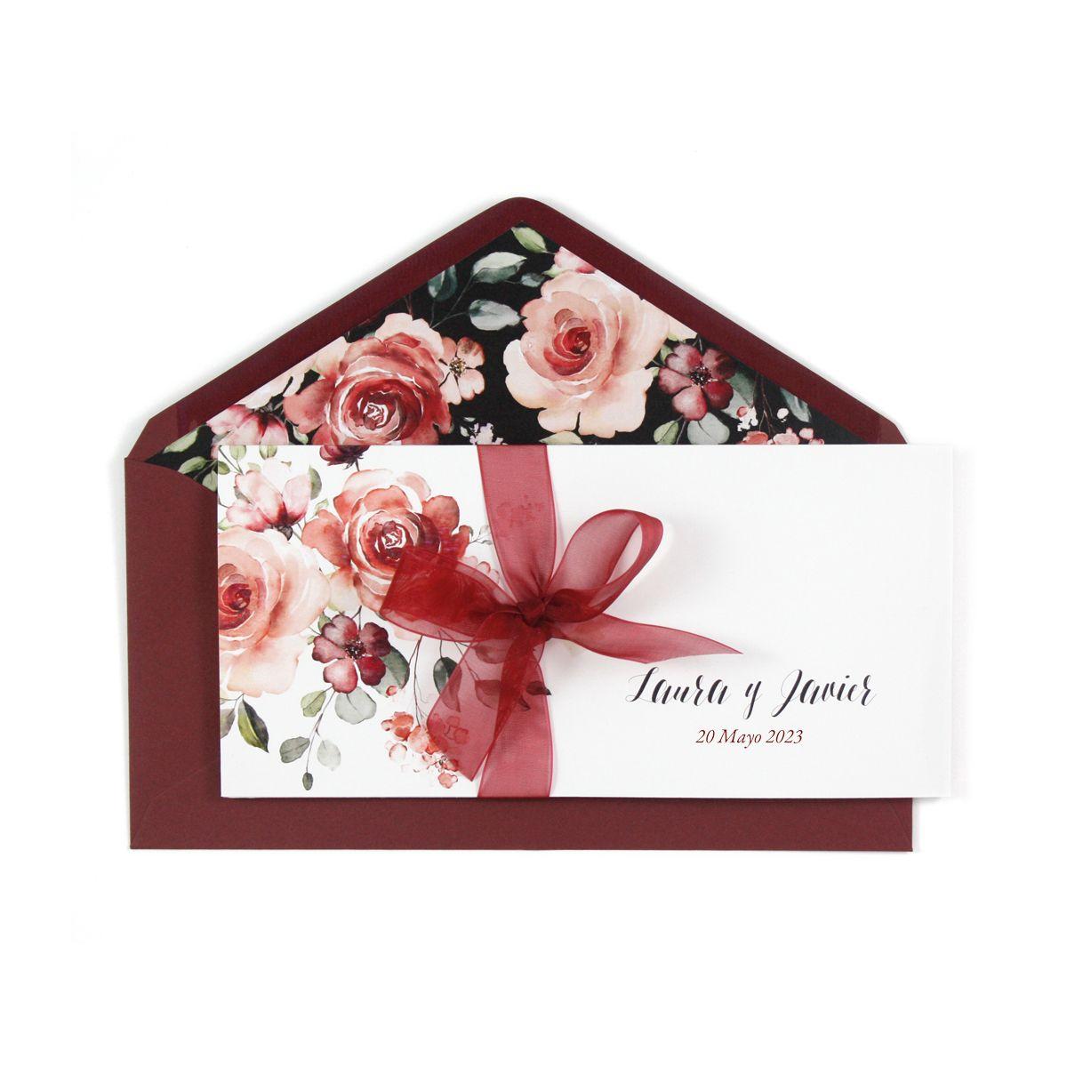 Invitación boda Amalia