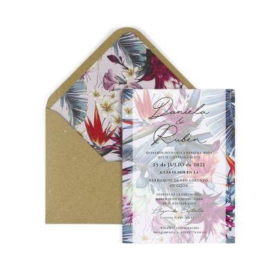 Invitación boda Mohana