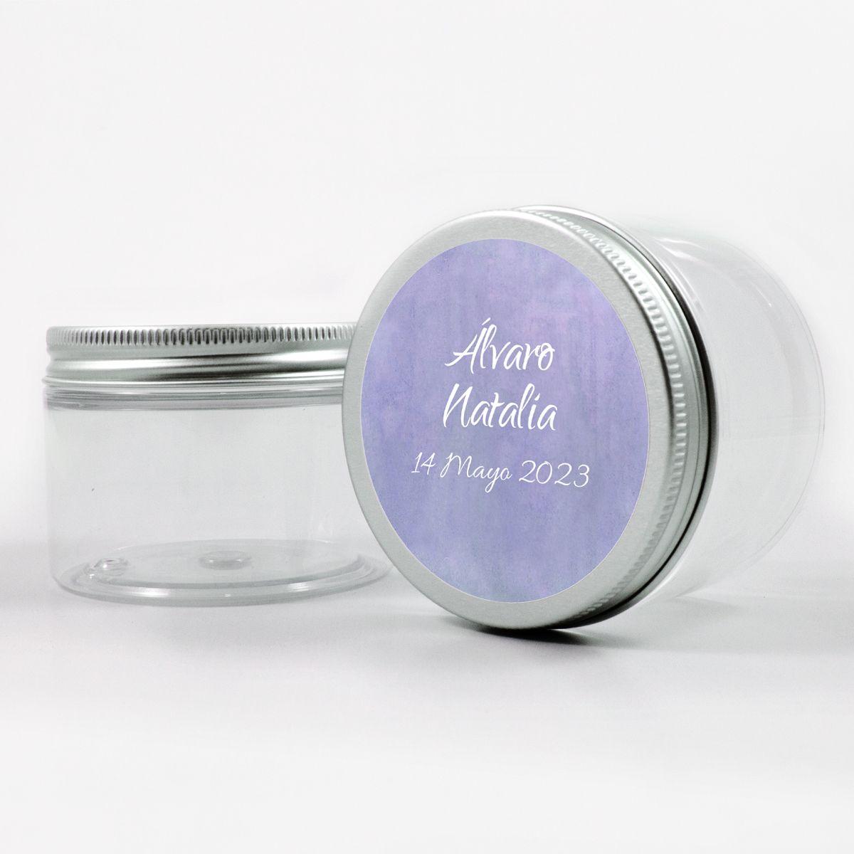Adhesivo boda Aguazul