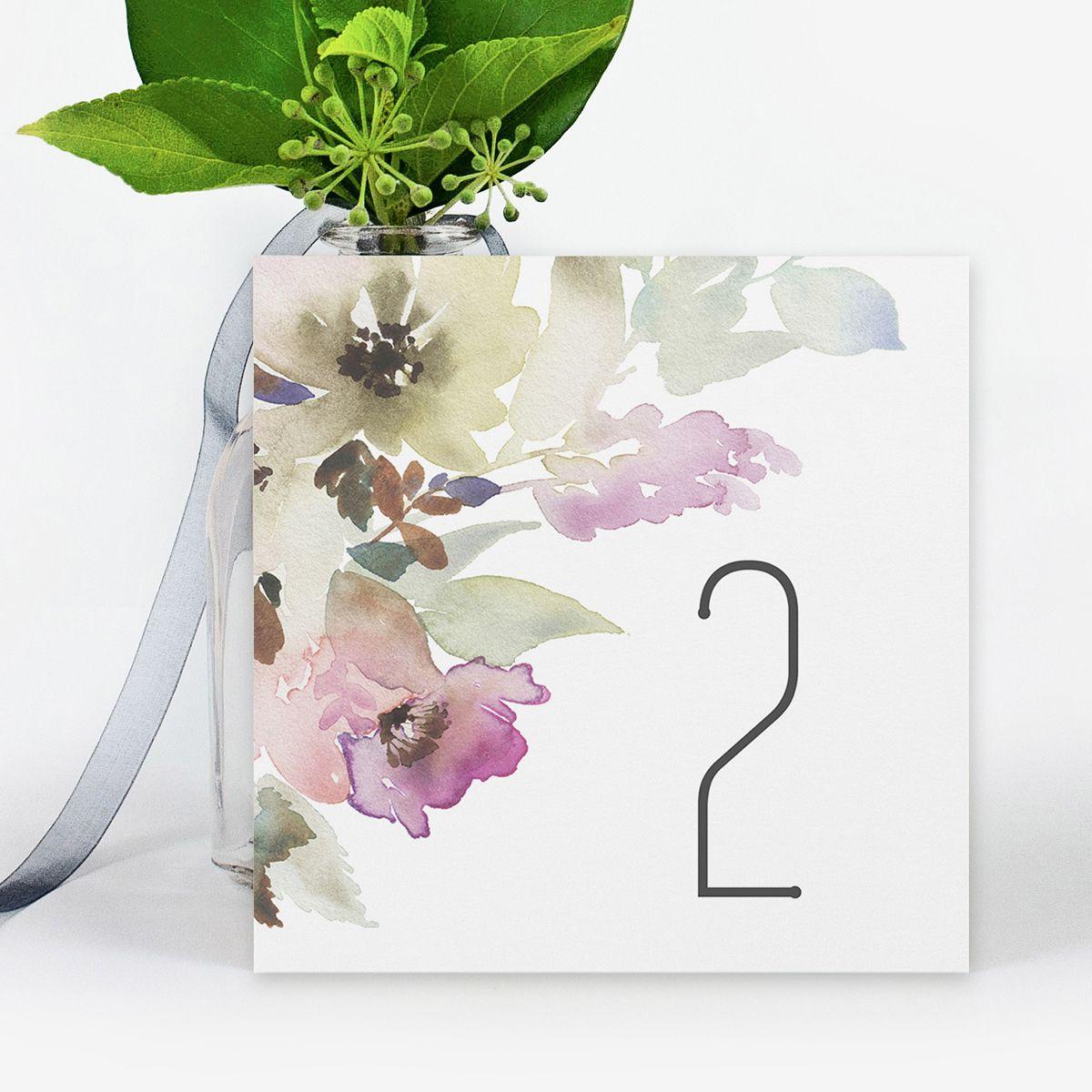 Número mesa boda Elia