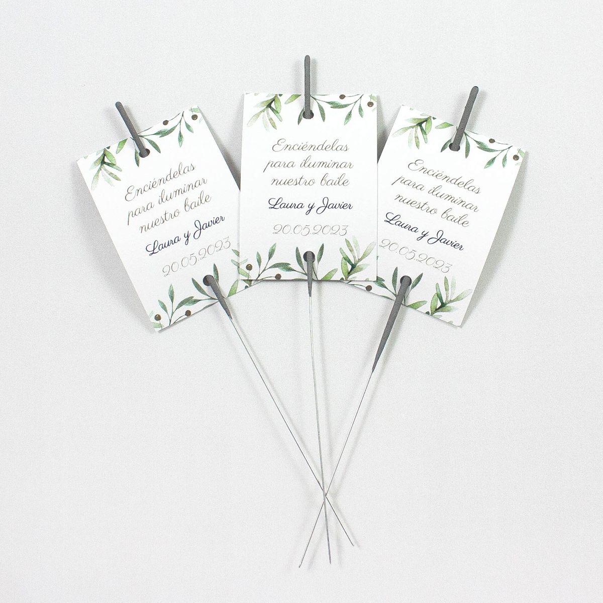 Porta-bengala boda verde olivo
