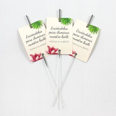 Porta-bengala boda Tropical