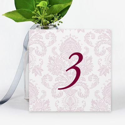 Número mesa boda Lara