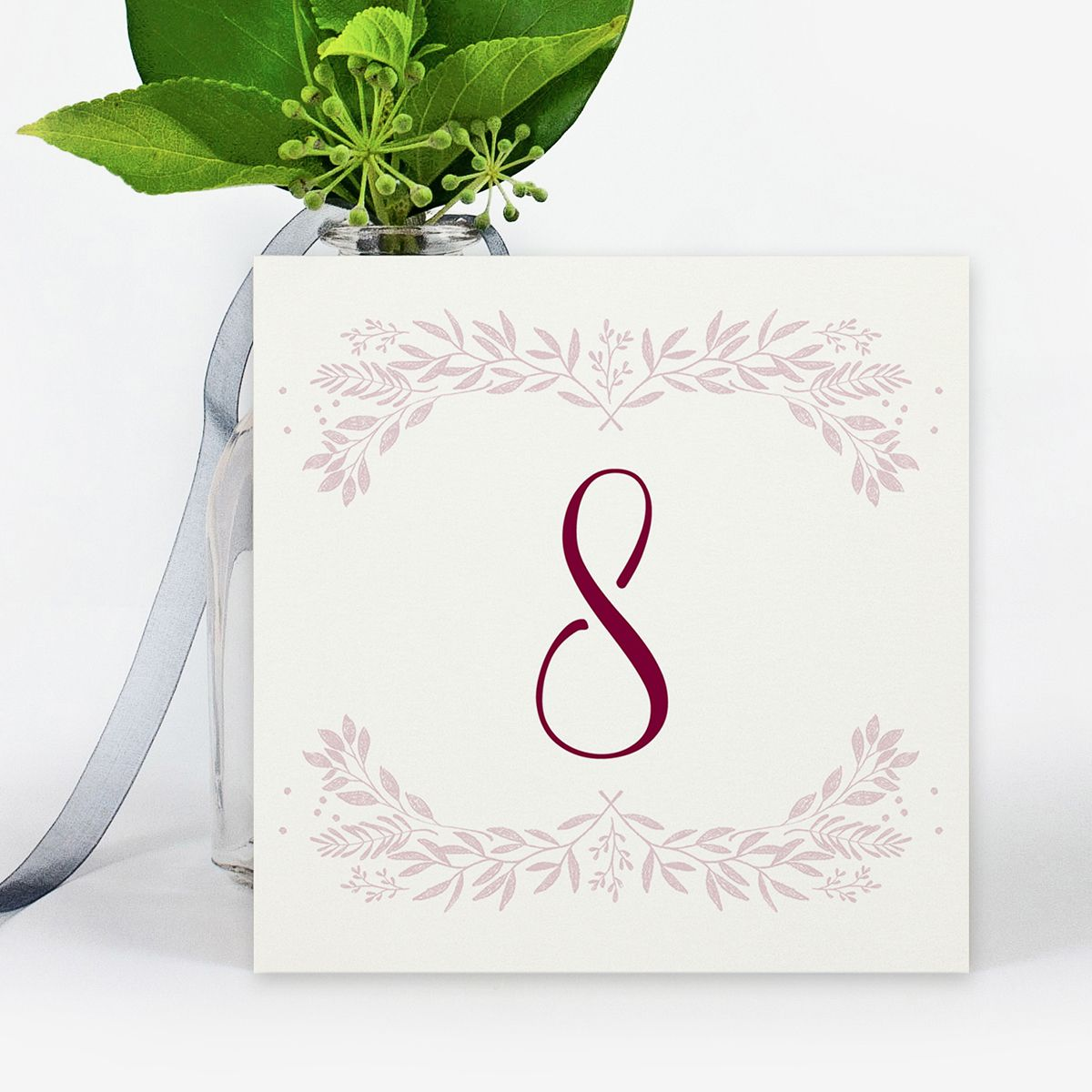 Número mesa boda Cloe