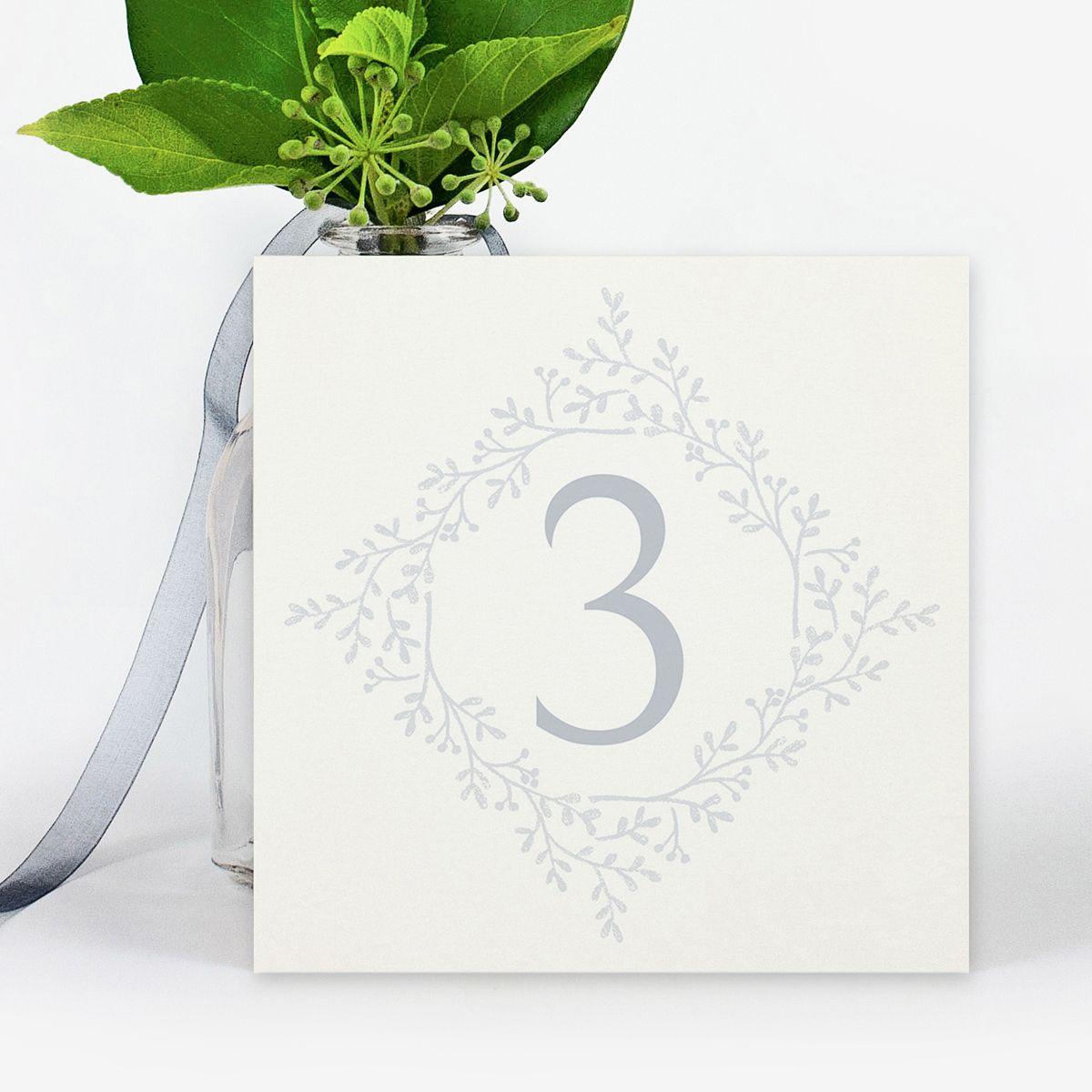 Número mesa boda Odin
