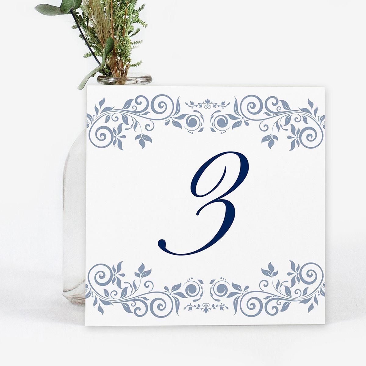 Número mesa boda Anne