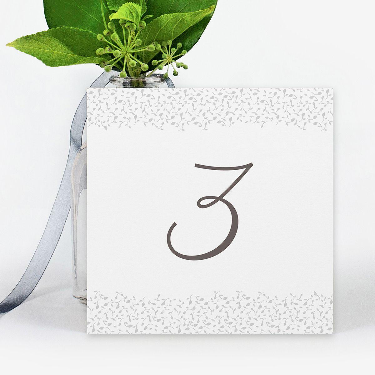 Número mesa boda Jackie