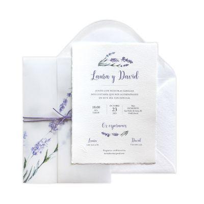 Invitación boda Saint-Rémy