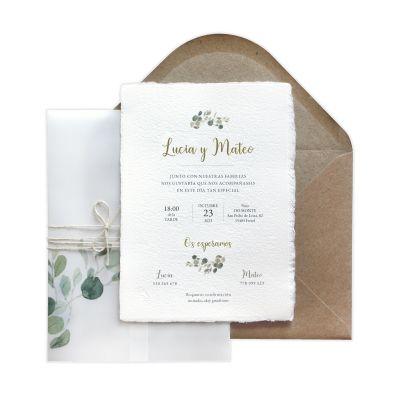 Invitación boda Spirit