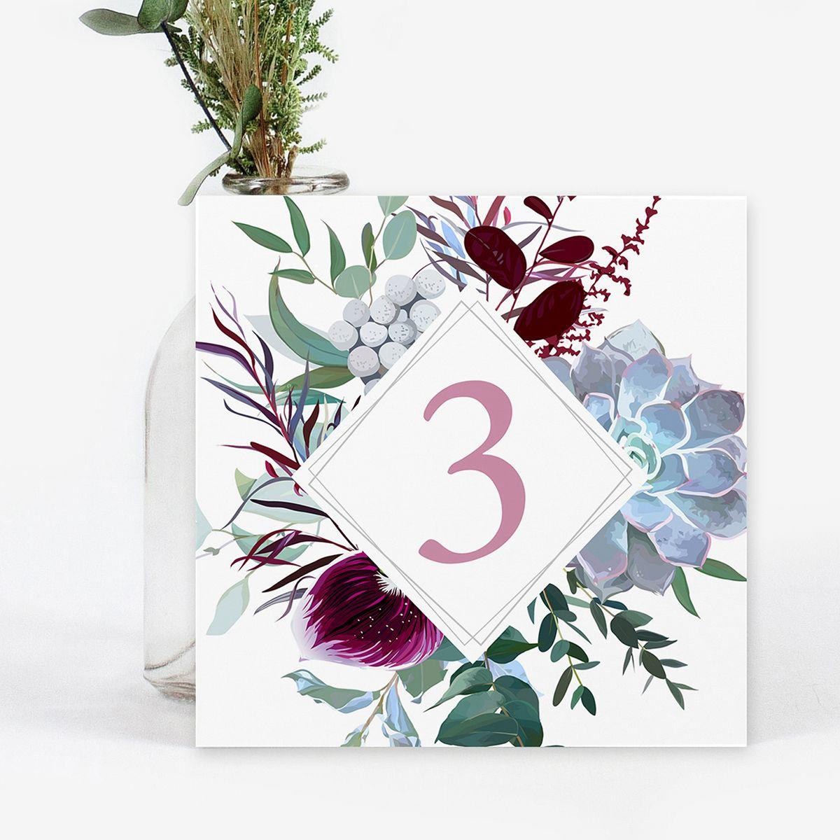 Número mesa bodaPaola