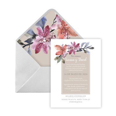 Invitación boda Adeben Digital