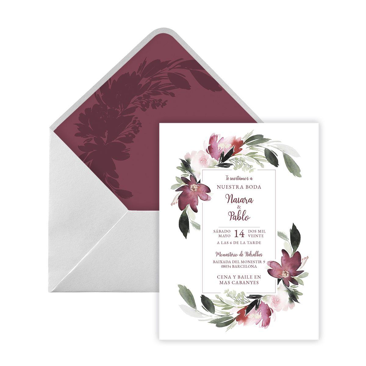 Invitación boda Ebo Digital