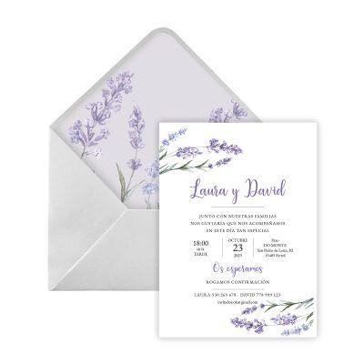 Invitación boda Usi Digital
