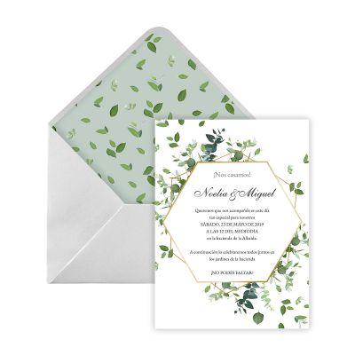 Invitación boda Jonsu Digital