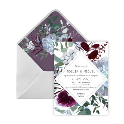Invitación boda Maat Digital