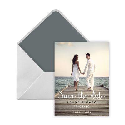 Invitación boda Foz Digital