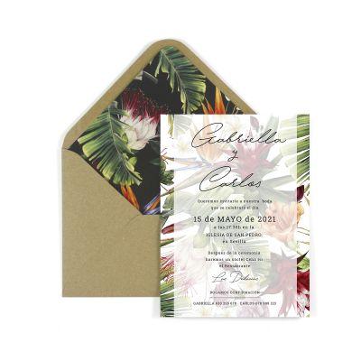 Invitación boda Alessa