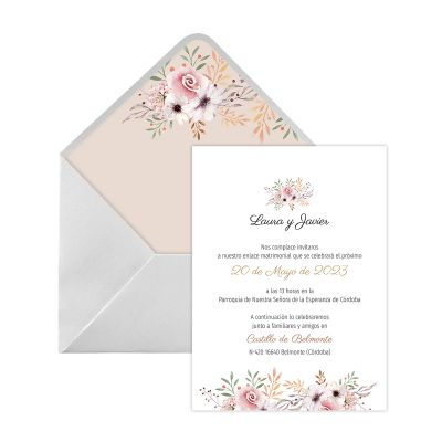 Invitación boda Winona Digital