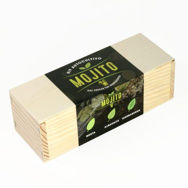 Kit Autocultivo Mojito (Menta - Albahaca - Hierbabuena)