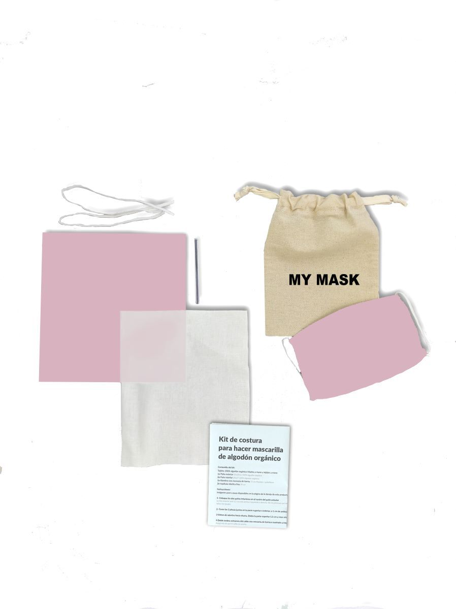 KIt Mascarilla Rosa Palo DIY