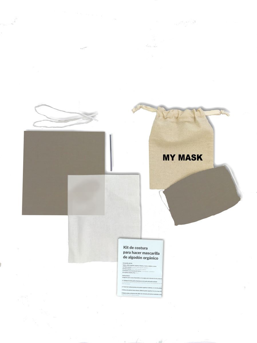Kit Mascarilla Lisa Taupe DIY