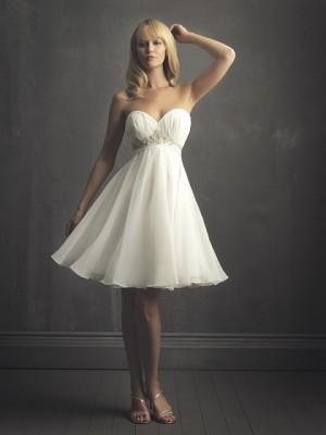 los mejores vestidos de novia civil para tu boda - comotinta