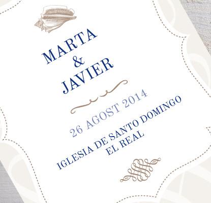 Invitaciones de boda elegantes para tu gran día