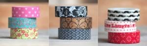 Cintas washi tape