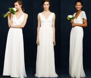 vestidos minimalistas