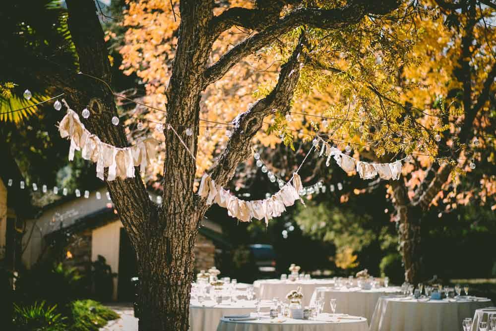 Organizar banquete de la boda