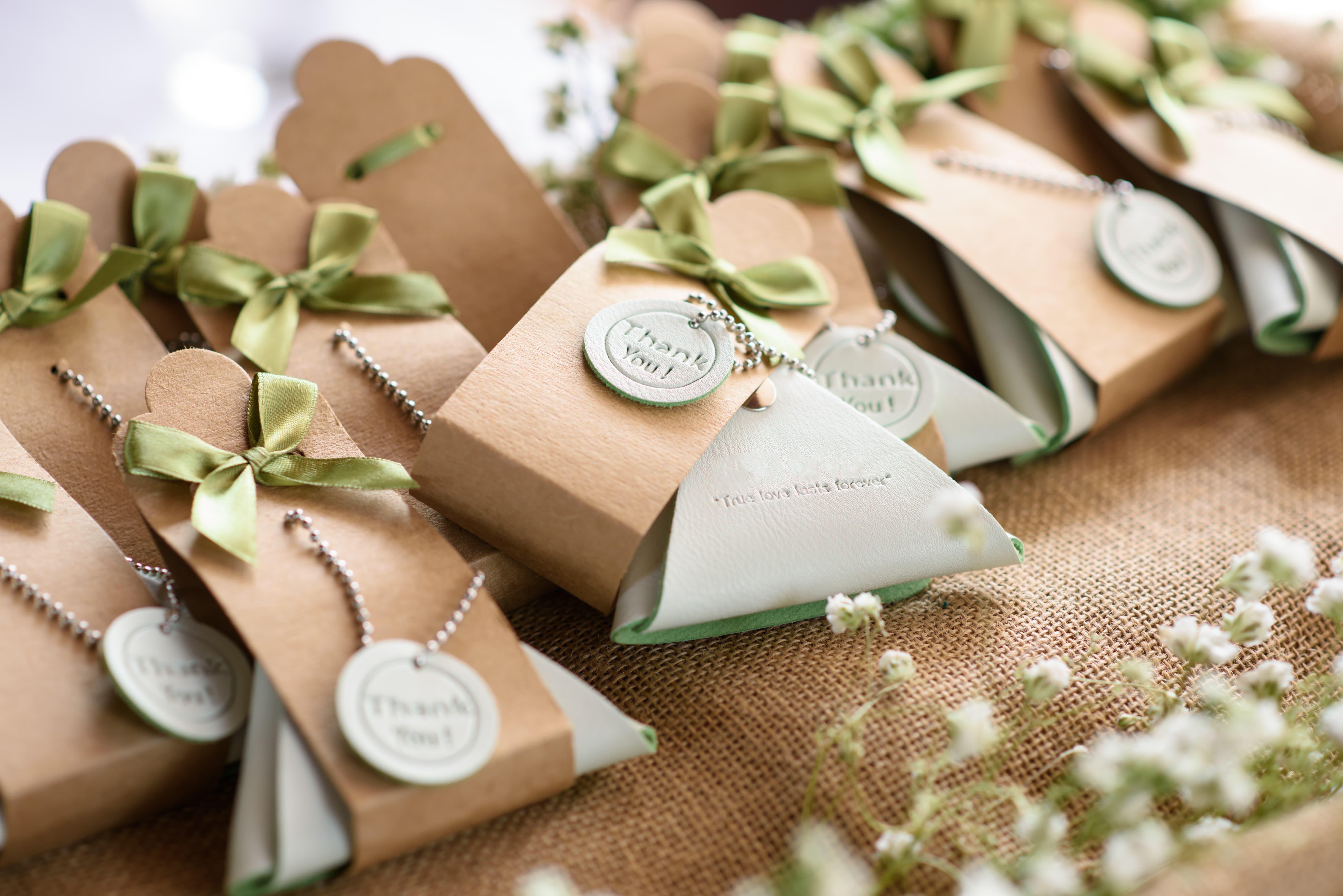 Regala detalles de recuerdo para los invitados de tu boda
